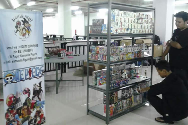 HTC-event-Berburu Mainan Keren di Hobbies & Toys Collector Expo