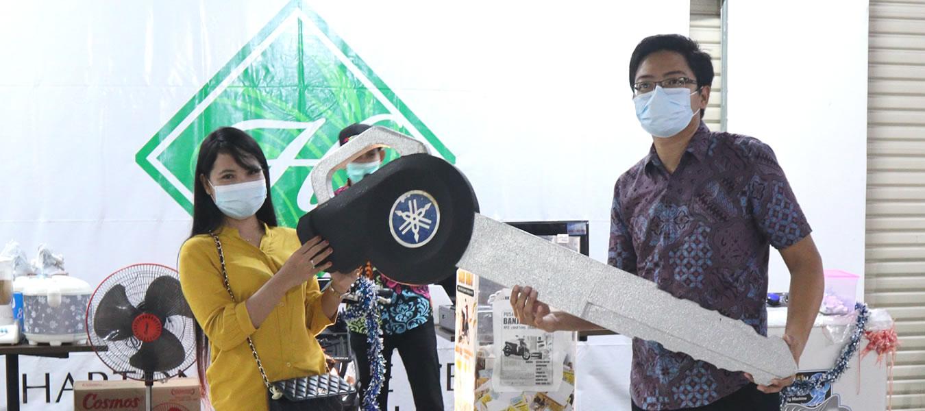 Pengundian Banjir Hadiah Hartono Trade center